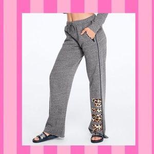 PINK Victoria's Secret Pants - Victoria's Secret Pink Leopard Boyfriend Pants